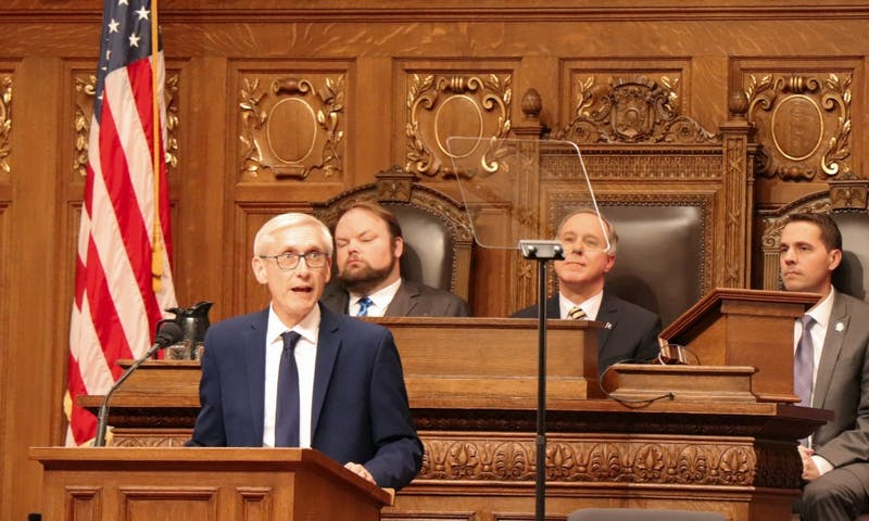 GOP leaders responded to Gov. Tony Evers State of the Budget Address with concerns that the budget would diminish the well-being of the state.