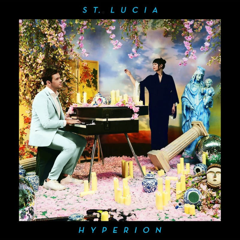 St. Lucia is touring to support their most recent album Hyperion, which was just released two weeks ago.