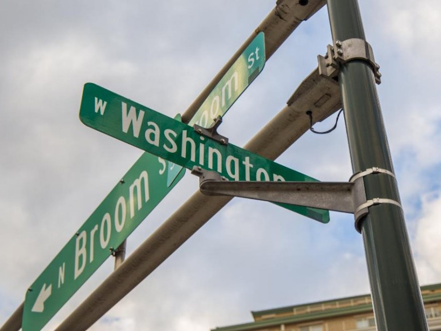 The development would be located on the northwest corner of Broom Street and West Washington Avenue.