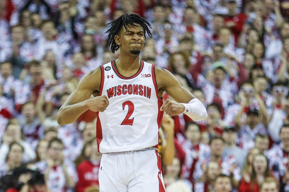 Aleem Ford had a big game for Wisconsin against Rutgers, putting up a team high 14 points.