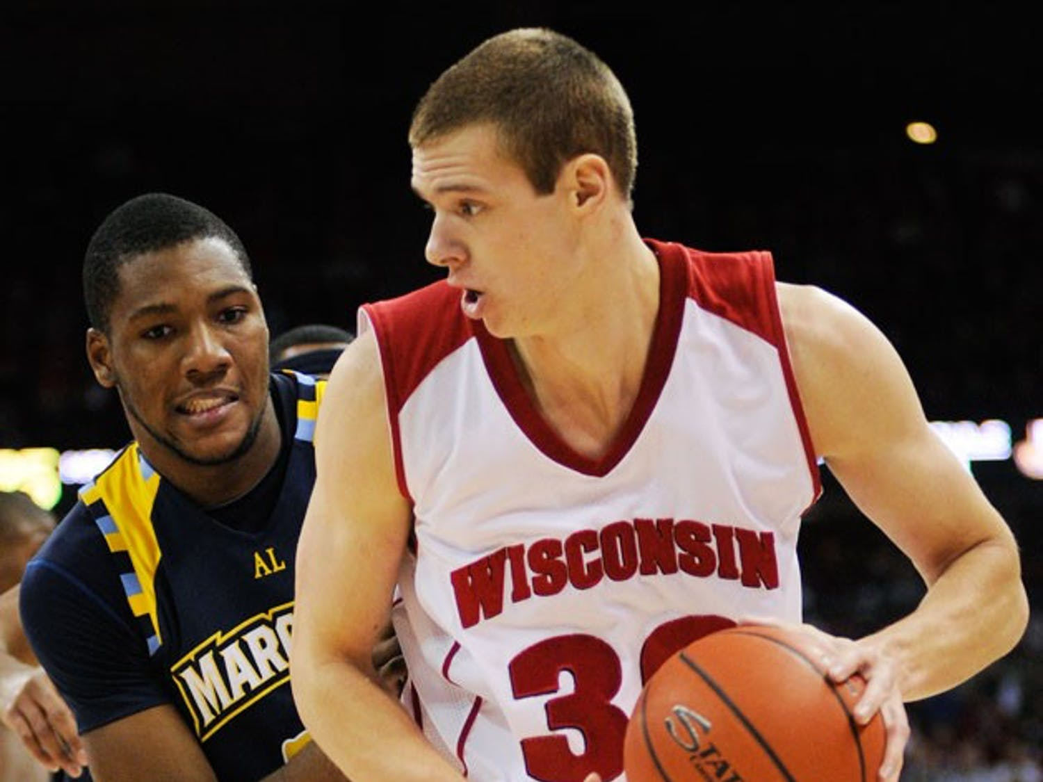 Wisconsin begins Big Ten play well but will sorely miss Leuer
