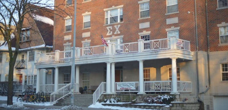 UW-Madison suspended the university's chapter of the Sigma Chi fraternity, which is located at 221 Langdon St.