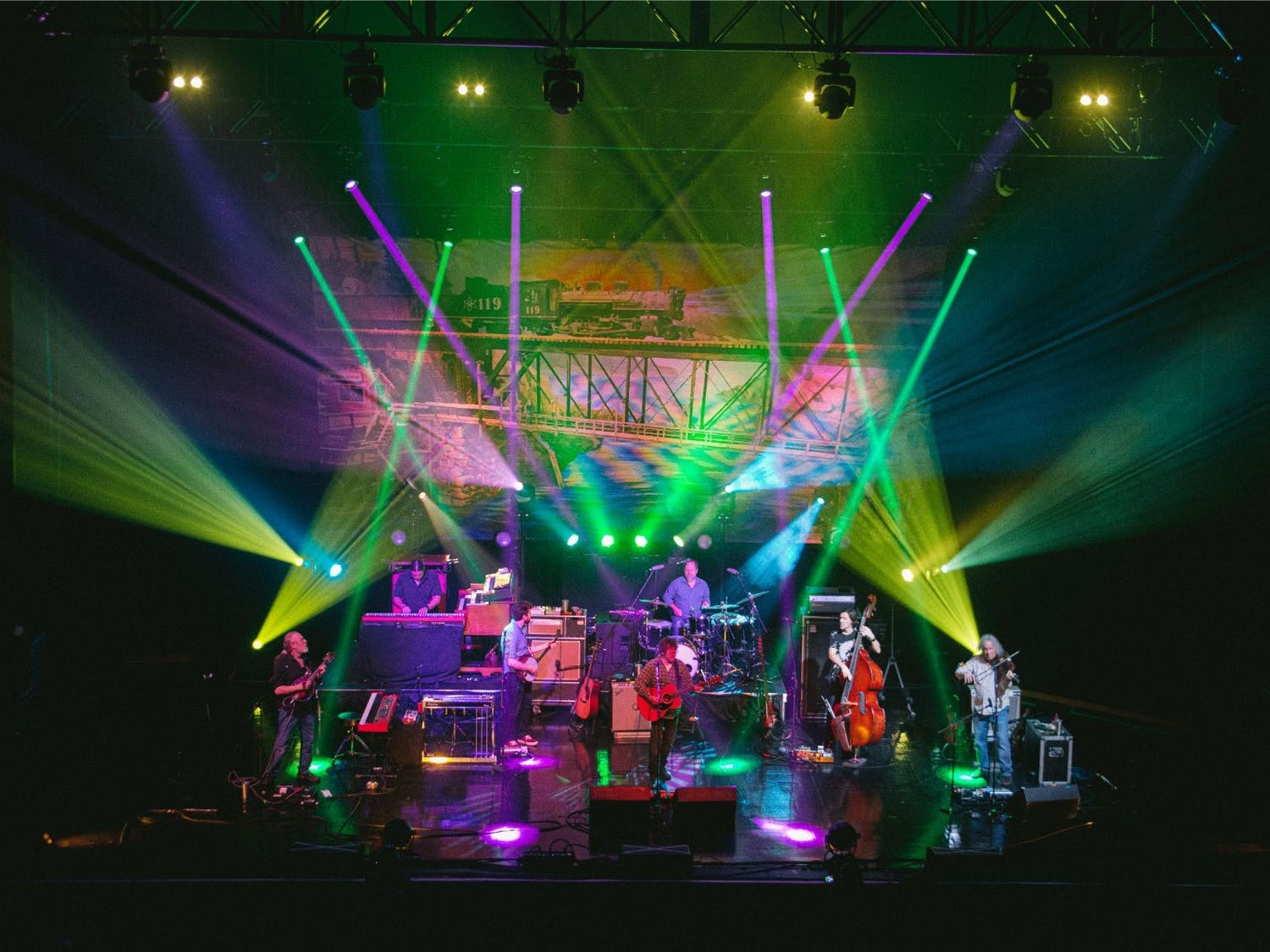 Railroad Earth, a New Jersey band, brought the stage to life at The Sylvee last Thursday.
