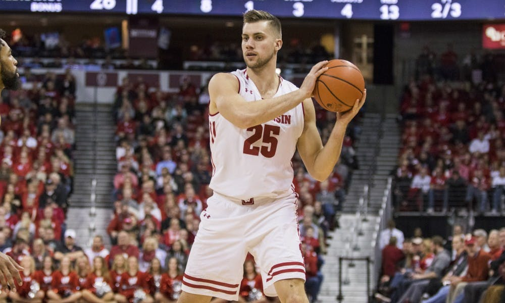 """Forward Alex Illikainen announced his departure from the program Monday, leaving Wisconsin with just three healthy players 6'6"""" or taller."""