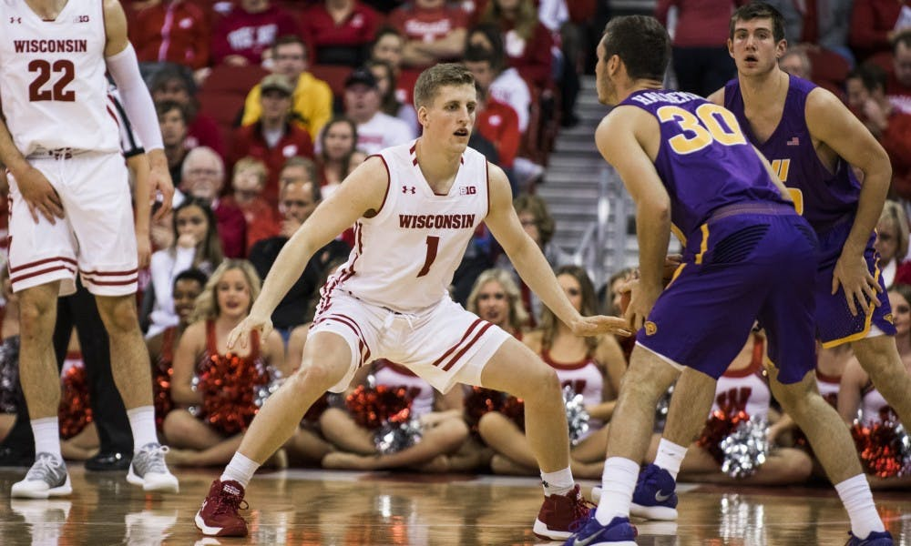 Junior guard Brevin Pritzl led the Badgers with 17 points and hit multiple huge three-pointers in the second half.