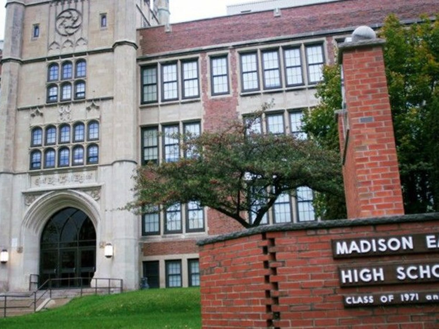 Madison residents will vote on whether to increase property taxes in order to fund schools, including Madison's East High School.