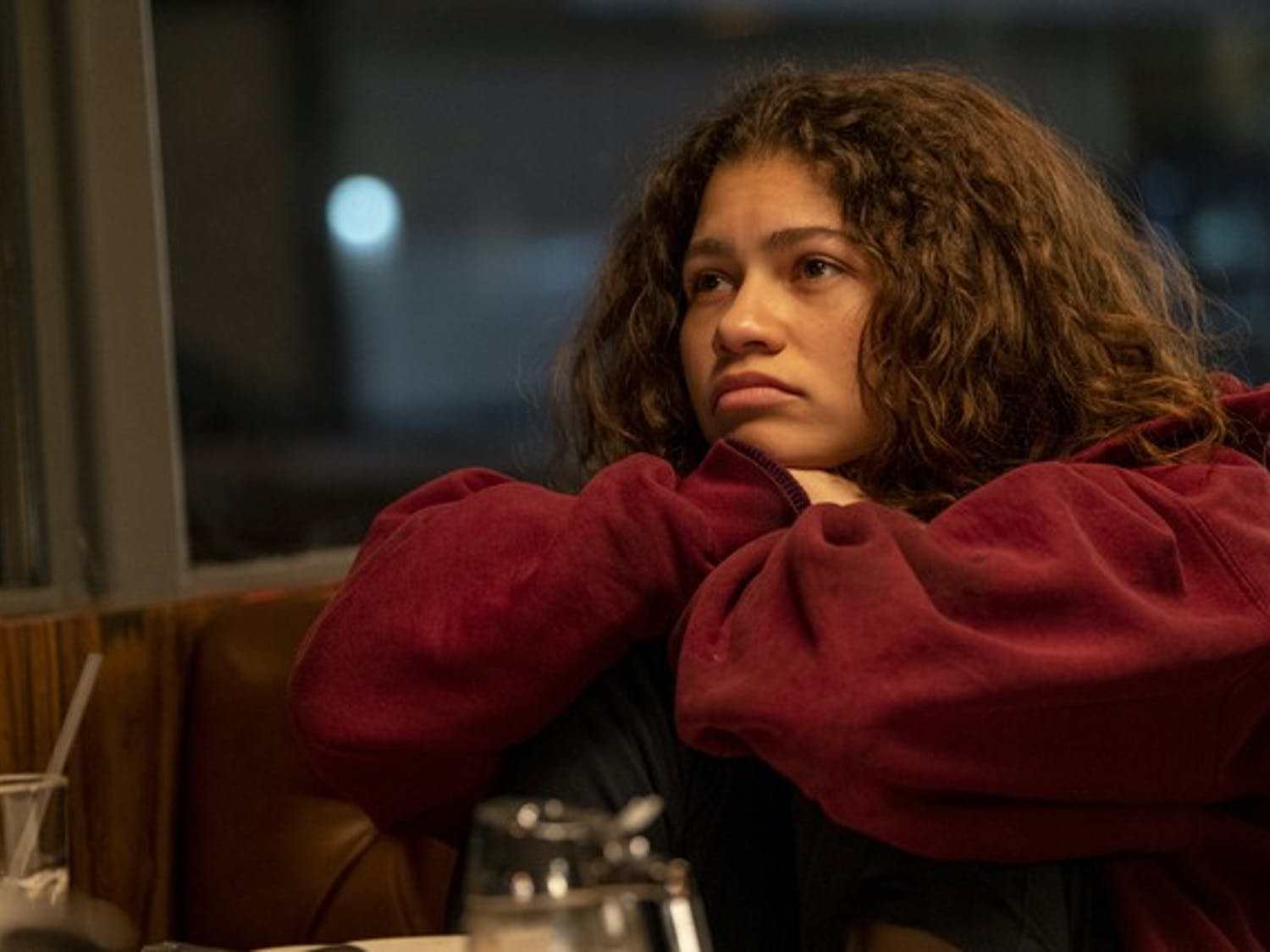 "Zendaya returns in new ""Euphoria"" special episode, following her Emmy win for her portryal as Rue in the show's first season."