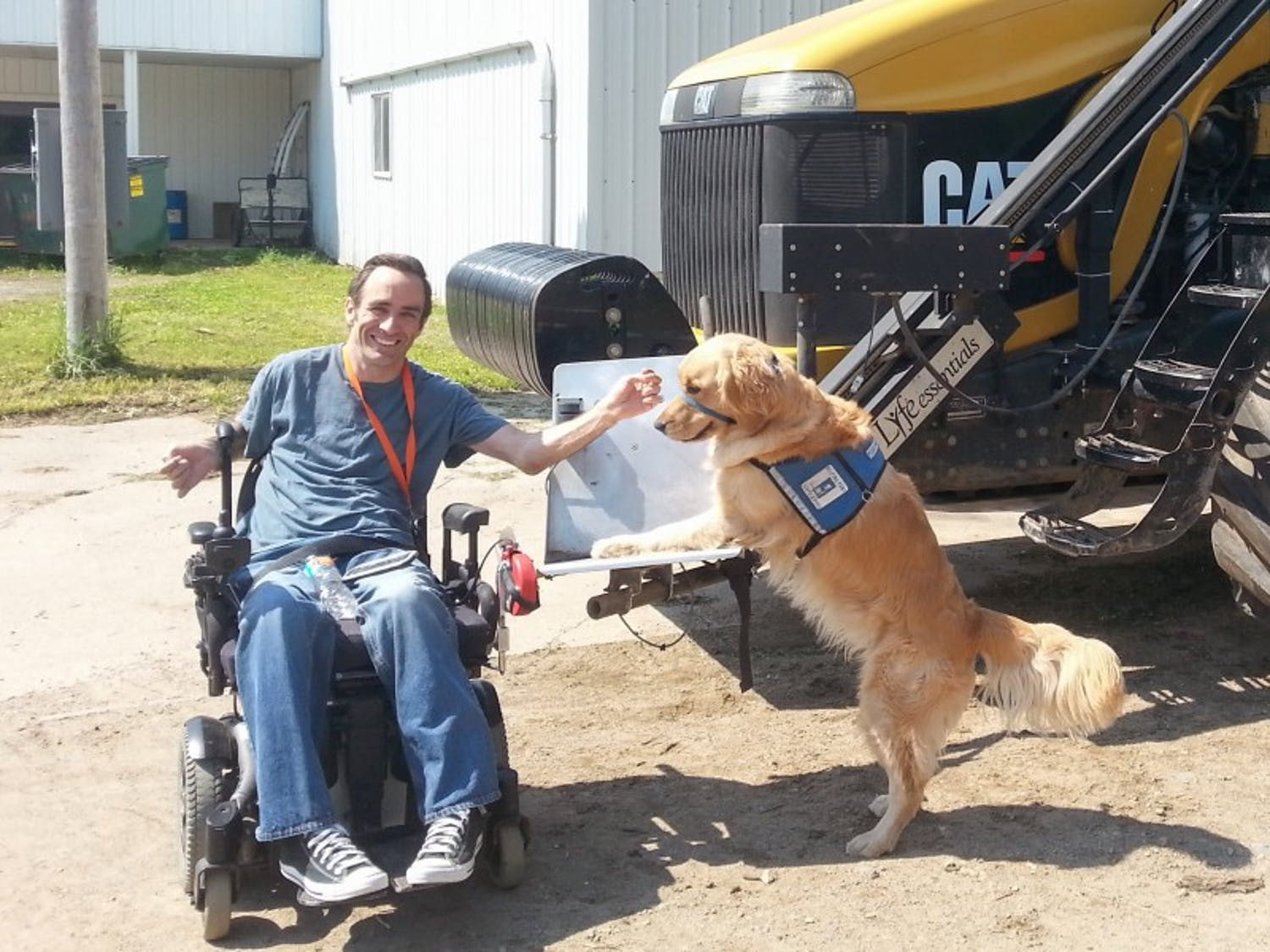 AgrAbility of Wisconsin, formed through a partnership between the UW Extensionand Easter Seals of Wisconsin, provides assistance to an estimated 38,740 Wisconsin farmers with limitations or disabilities — including chronic illnesses, agriculture or non-agriculture-related injuries, and mental health issues.