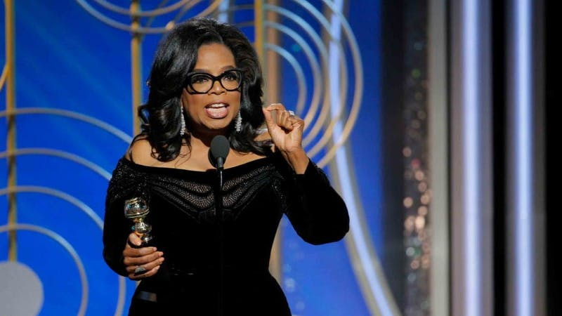 Oprah Winfrey's groundbreakingacceptance speech for the Cecil B. DeMille award has already sparked discussion over a presidential campaign in 2020.