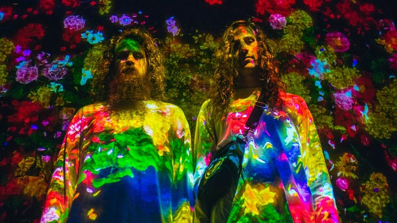 Brothers Kevin and Jeff Saurer compose the EDM duo Hippie Sabotage, originating from Sacramento, Calif.