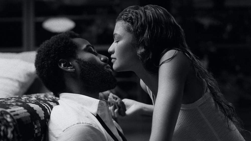 "<p>John David Washington and Zendaya play conflicting lovers in Sam Levinson's Netflix original ""Malcolm &amp; Marie.""</p>"