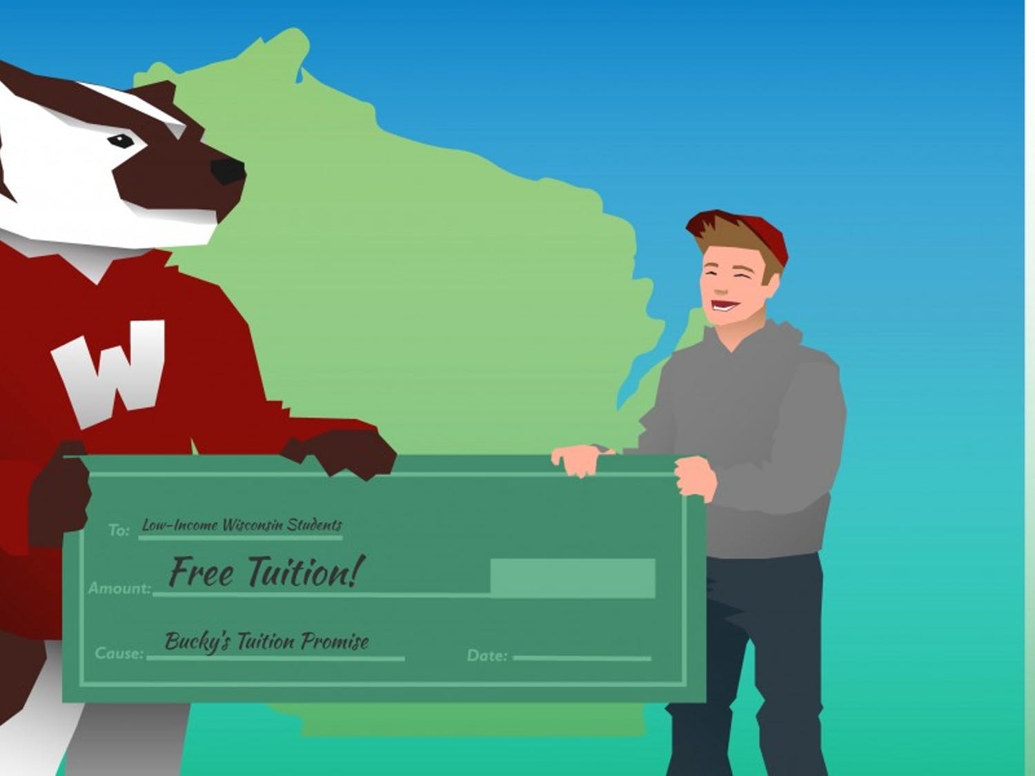 UW Madison's new Bucky's Tuition Promise will provide free tuition and fees to low income families starting this year.