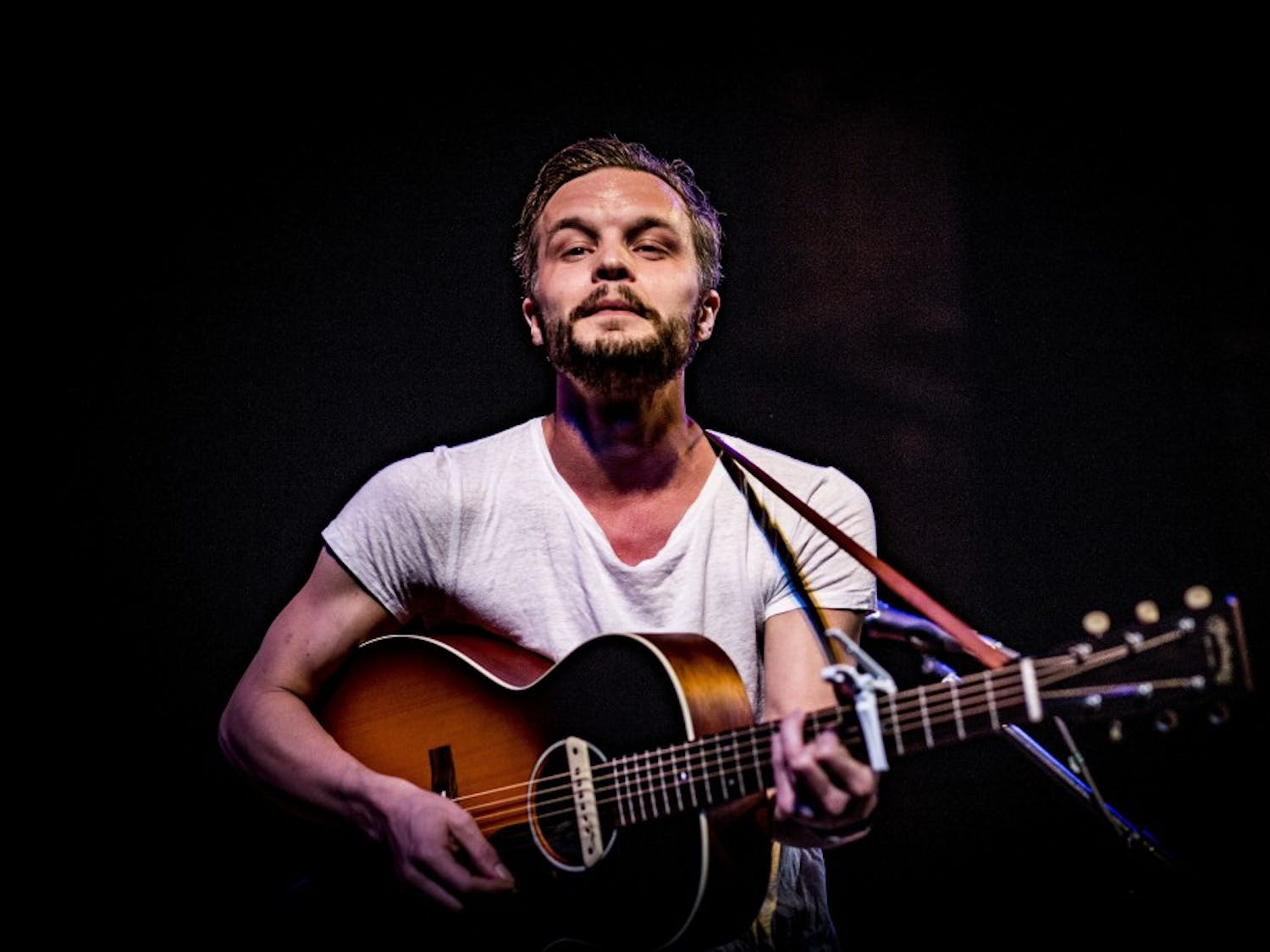 The Tallest Man on Earth played in Madison Tuesday at the Barrymore Theater.