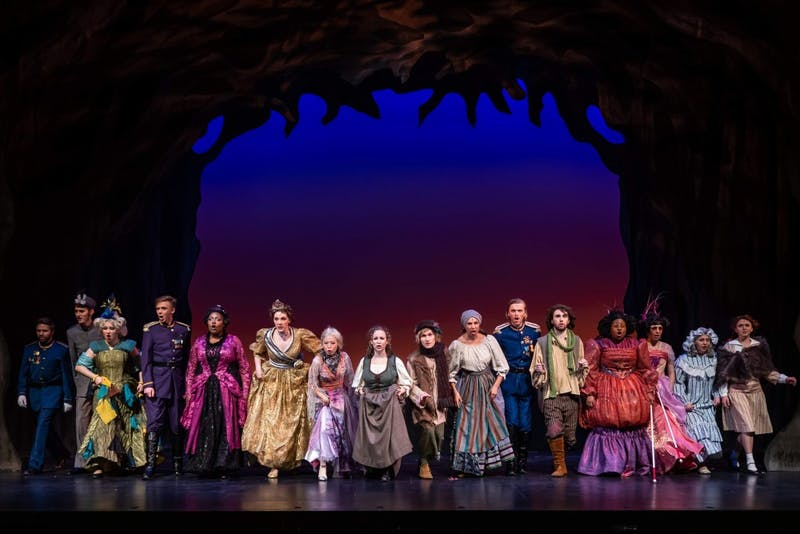 """Into the Woods"" is a tremendous experience that combines the musical magic of different fairy tales into one theater performance that you will never forget."