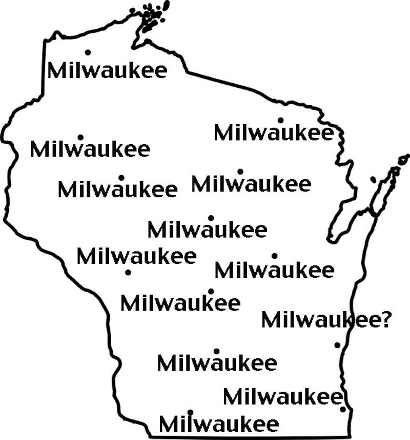 A geography lesson might be in order for the incoming UW class.