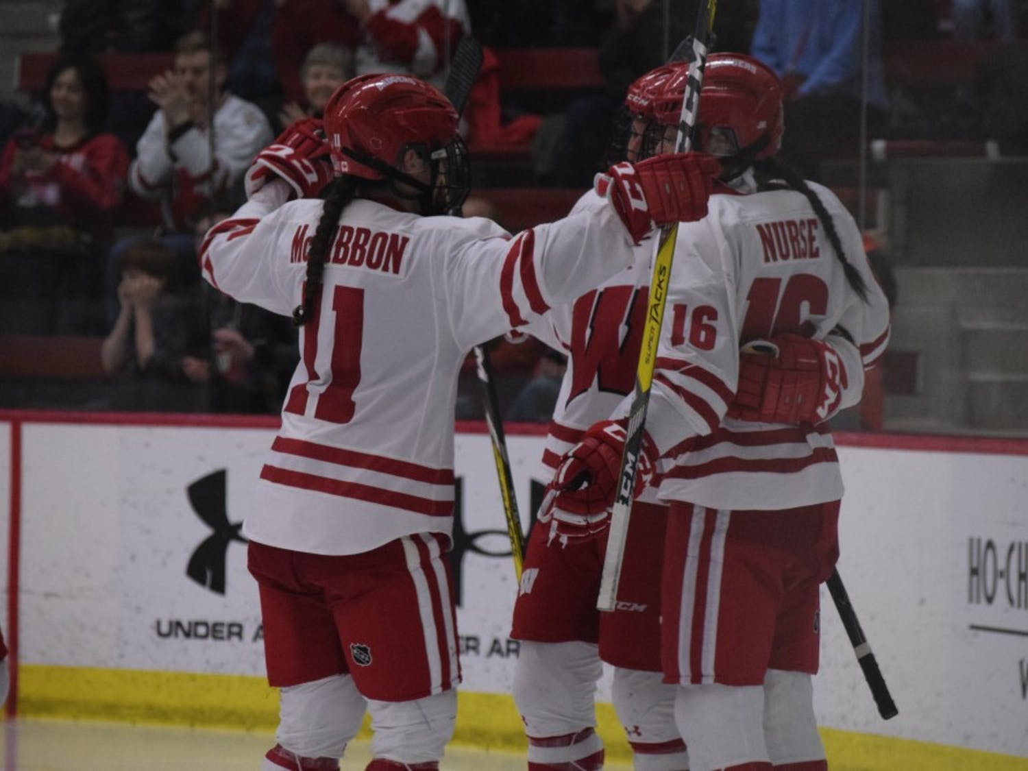 Wisconsin's quest for its fifth national title begins this weekend at LaBahn Arena against Robert Morris.