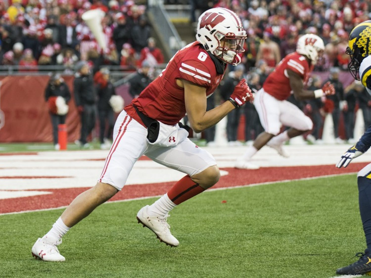 Sophomore receiver Danny Davis needs to be a threat on the outside of field for Wisconsin to open up its passing game and keep Iowa's defense on its heels.