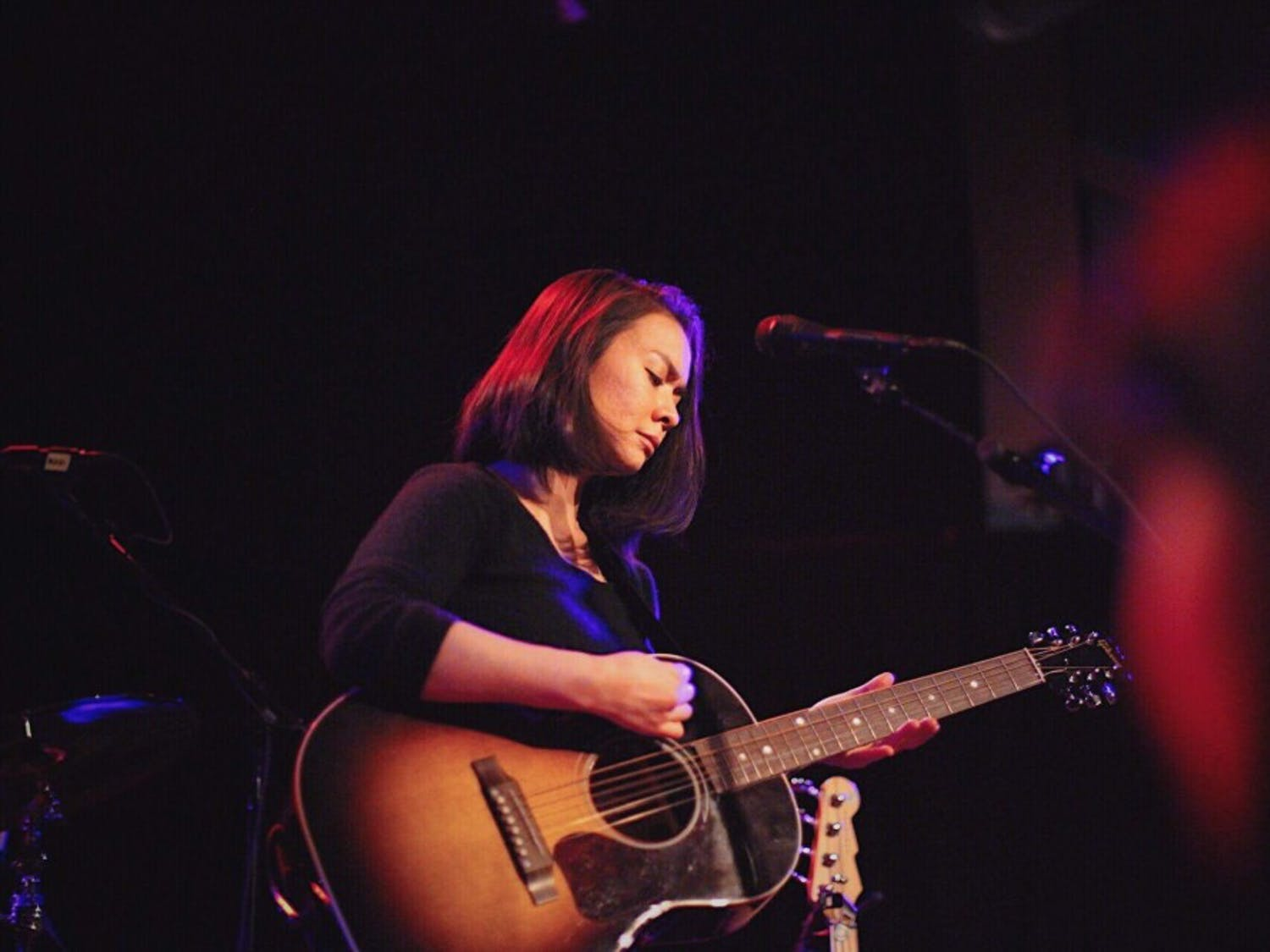 Mitski's gentle yet striking voicestirred the emotions of concertgoers at the High Noon Saloon last week.