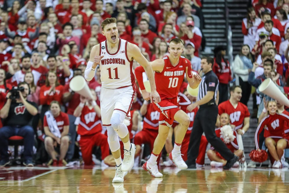 Micah Potter has been an extremely important part of the Badgers offense and defense since making his debut for the Badgers in December.