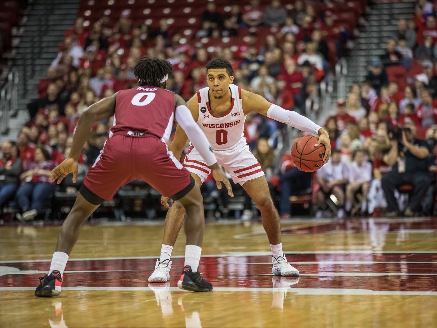 D'mitrik Trice will be key against Ohio State Sunday.