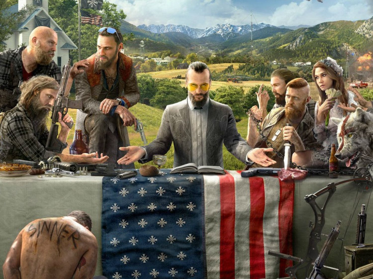 "Far Cry 5"" is a jumbled mash of symbols and tropes that go nowhere, make no sense and mean nothing."