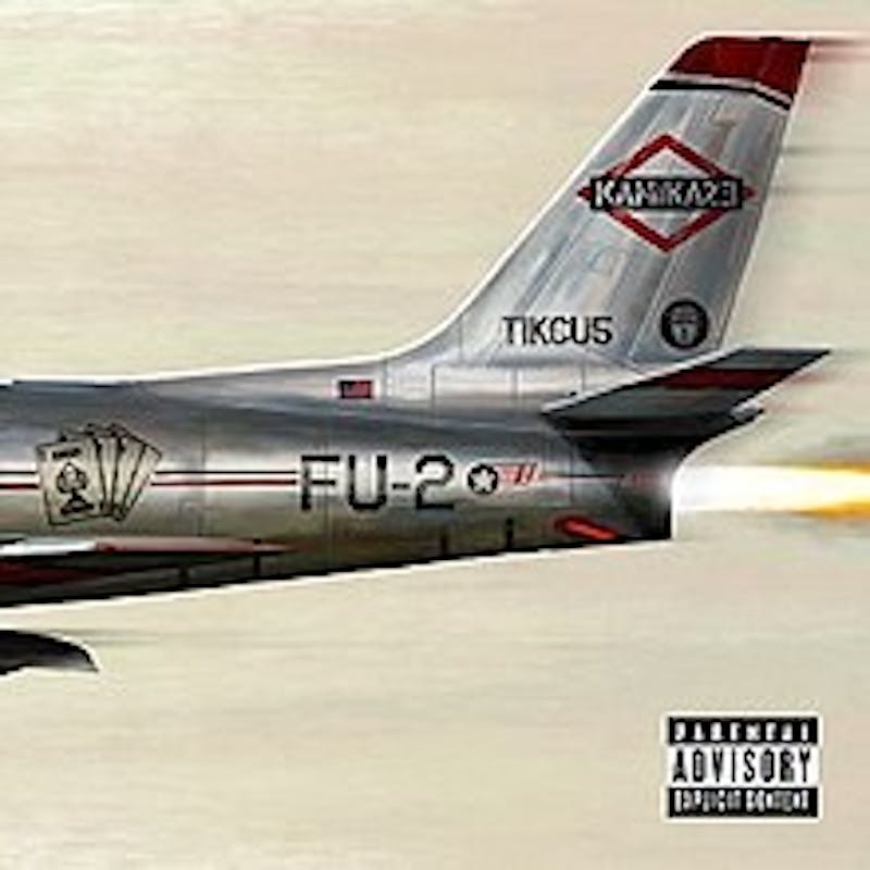 Eminem finds himself outdone by hip-hop musicians both old and young yet again in Kamikaze.
