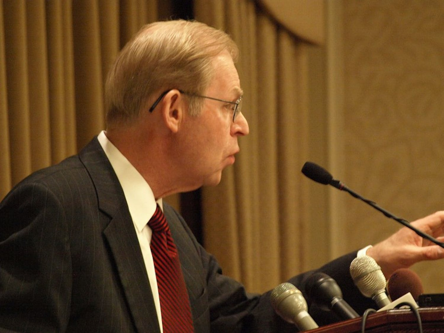 State Supreme Court judge David Prosser announced Wednesday he would retire in July after 18 years of service on the state's highest court.