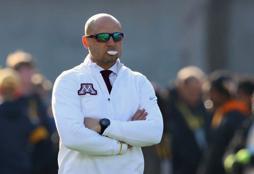 <p>Minnesota head coach P.J. Fleck likely cost his team a 10-0 record with an unsportsmanlike conduct penalty in the third quarter of their loss to Iowa.&nbsp;</p>
