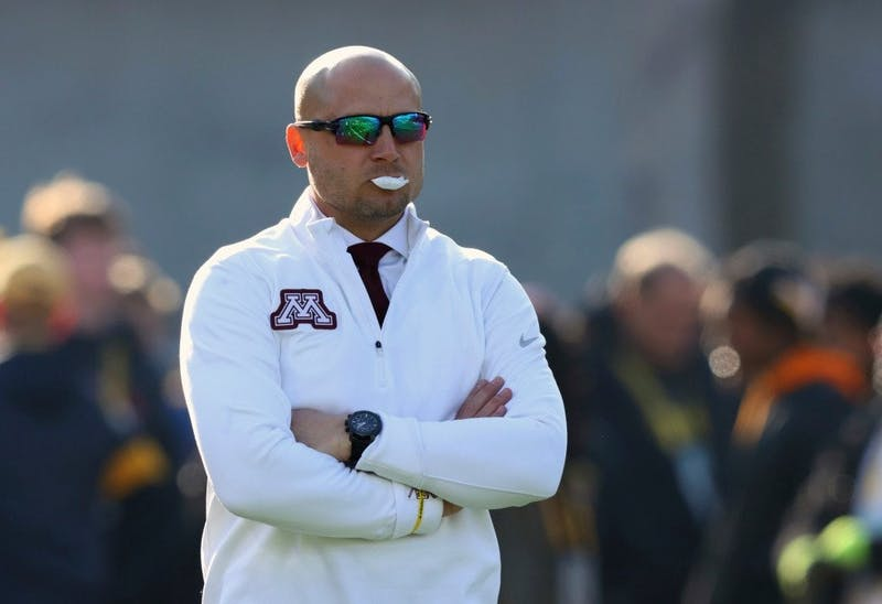 Minnesota head coach P.J. Fleck likely cost his team a 10-0 record with an unsportsmanlike conduct penalty in the third quarter of their loss to Iowa.