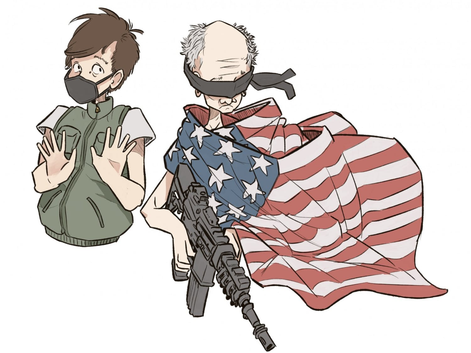 What use is freedom and civil liberty when one is dead?