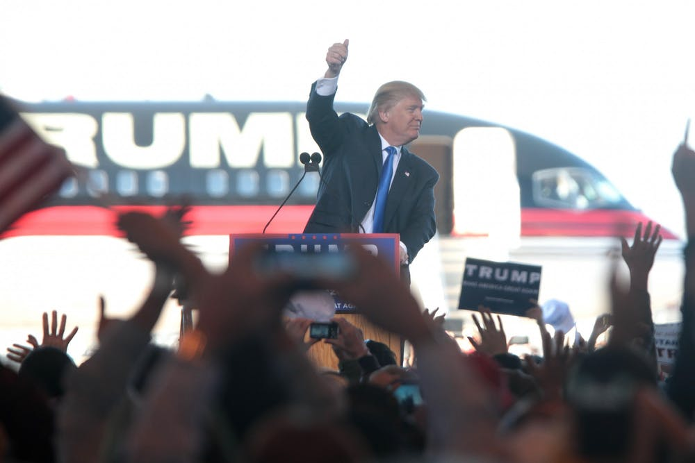 "<p>Most attendees did not wear masks at Trump's campaign event despite Wisconsin's ""red zone"" status in a White House Coronavirus Task Force report.&nbsp;</p>"
