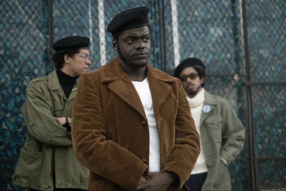 <p>Daniel Kaluuya is Fred Hampton, Deputy Chairman of Chicago's Black Panther Party and FBI target, &nbsp;in 'Judas and the Black Messiah.'</p>