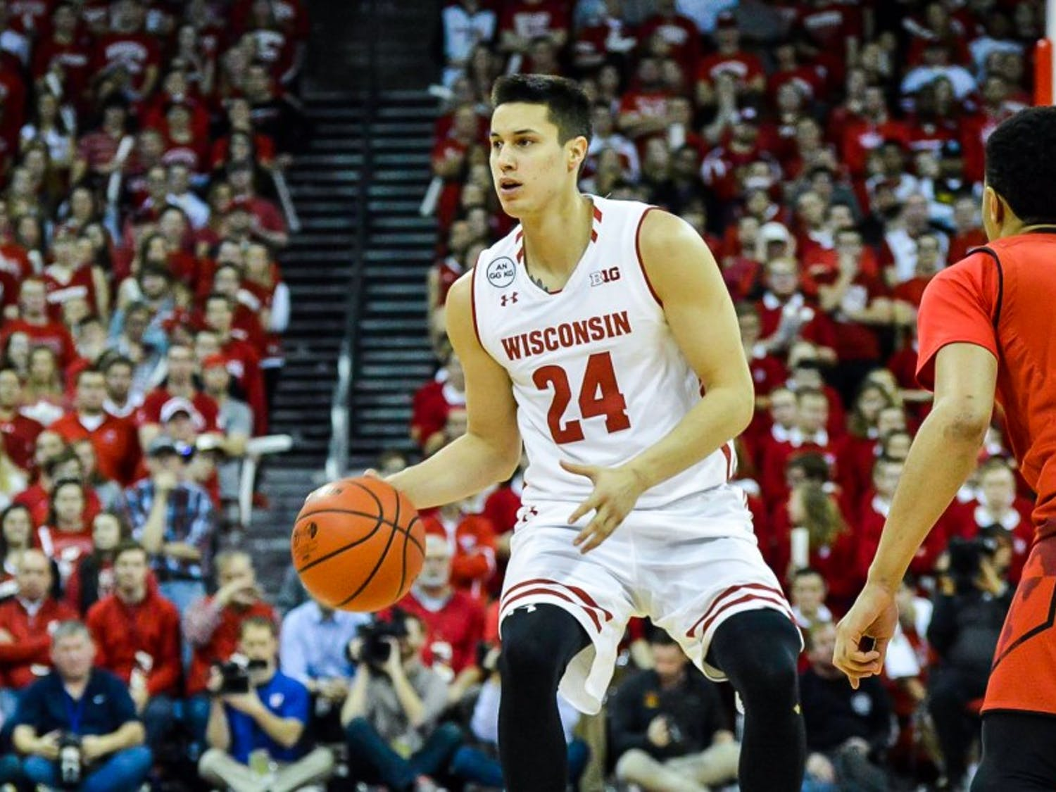Bronson Koenig ignited the offense and the Kohl Center crowd after returning from injury.