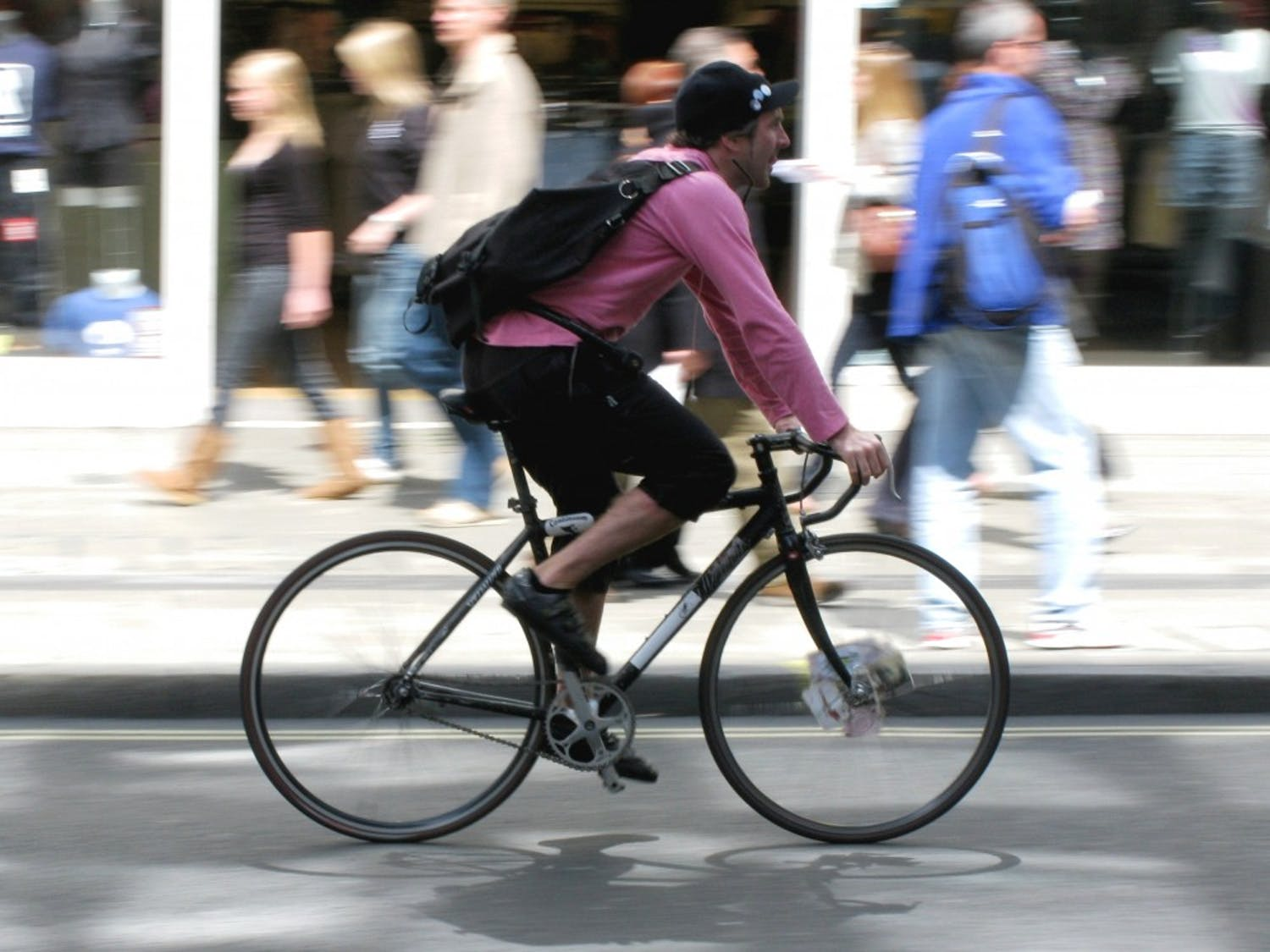 Being a bike courier is a great way to make some cash