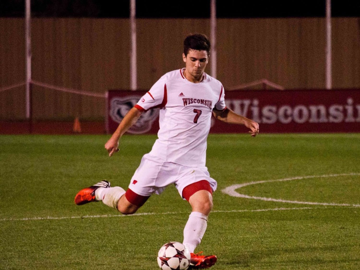 Surrounded by young teammates, junior midfielder Drew Conner finds himself in a leadership role this season.