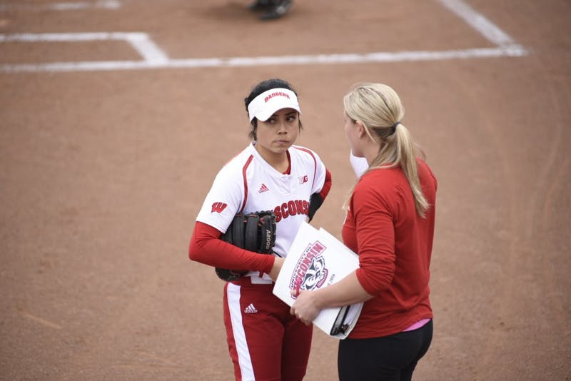 Wisconsin struggled in its first series at home, falling three times to Nebraska.