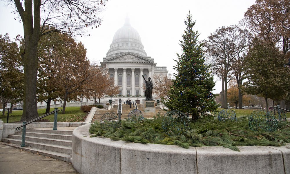 <p>Gov. Tony Evers amends legislation and restarts the 1983-established Transportation Projects Commission Tuesday.</p>