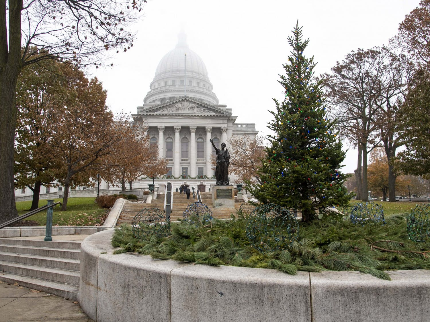 Gov. Tony Evers amends legislation and restarts the 1983-established Transportation Projects Commission Tuesday.