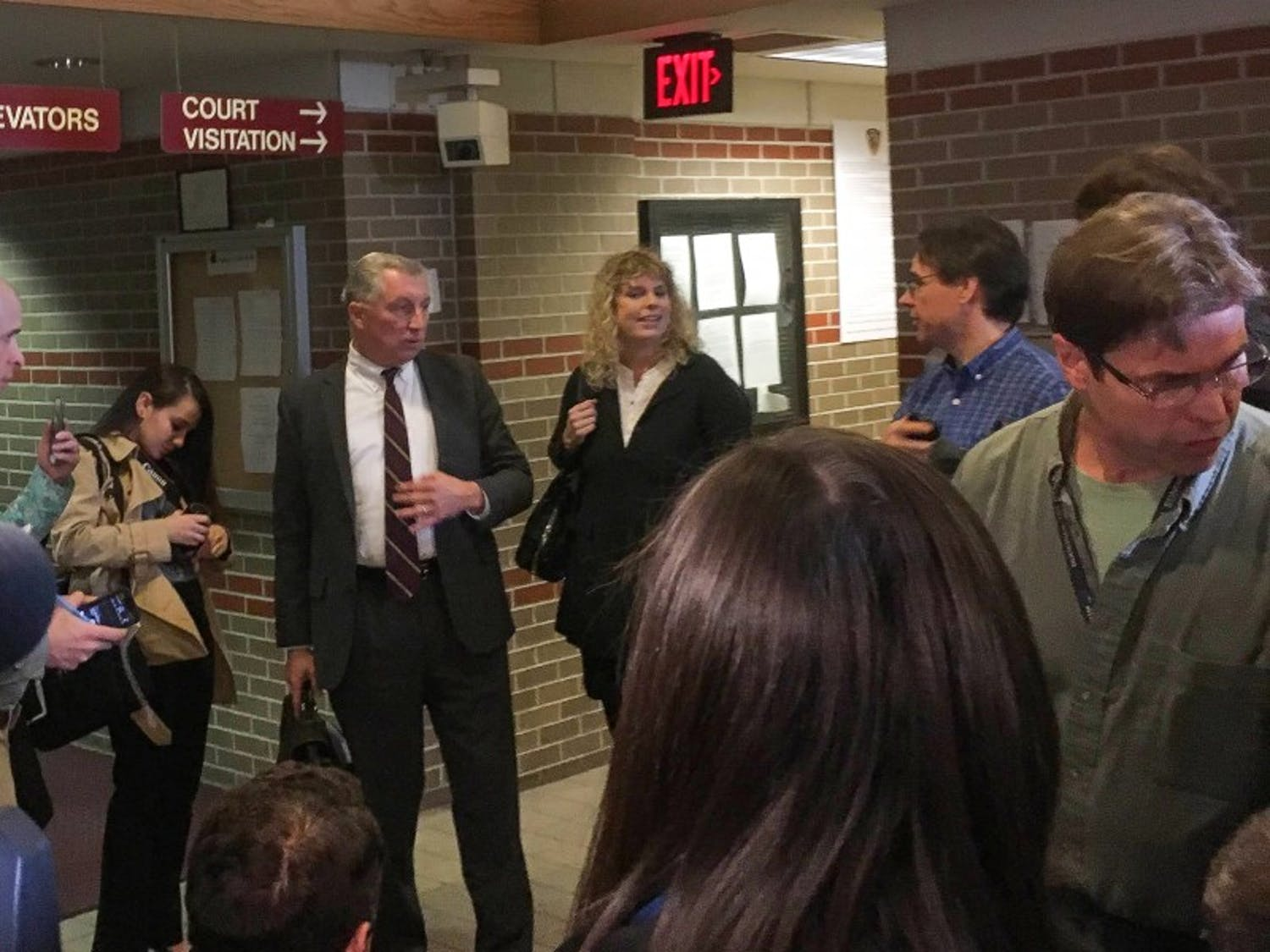Alec Cook's lawyers, Chris Van Wagner and Jessa Nicholson Goetz, addressed media following his bail hearing Thursday.