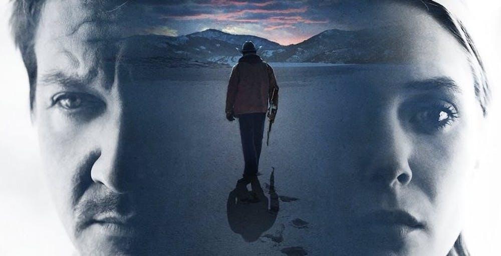 Jeremy Renner and Elizabeth Olsen star in screenwriter Taylor Sheridan's latest crime thriller.