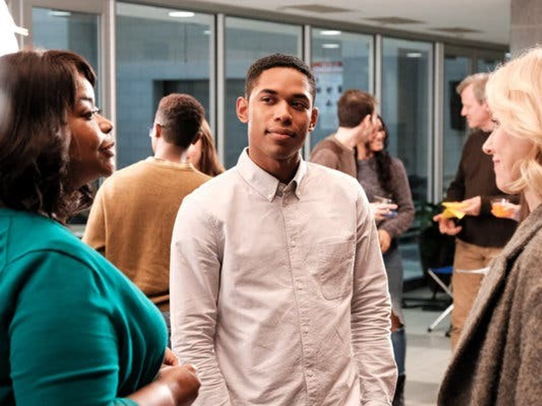 "Octavia Spencer (left), Kelvin Harrison Jr. (center) and Naomi Watts (right) star in ""Luce"" — Julius Onah's third film since 2015."