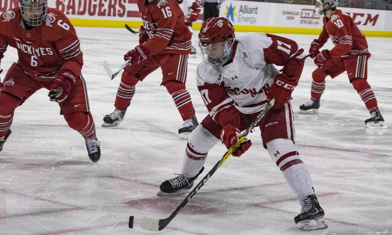 Senior forward Will Johnson tied the game at four with a third period goal, but it wasn't enough to help the Badgers avoid defeat Friday night against Notre Dame.