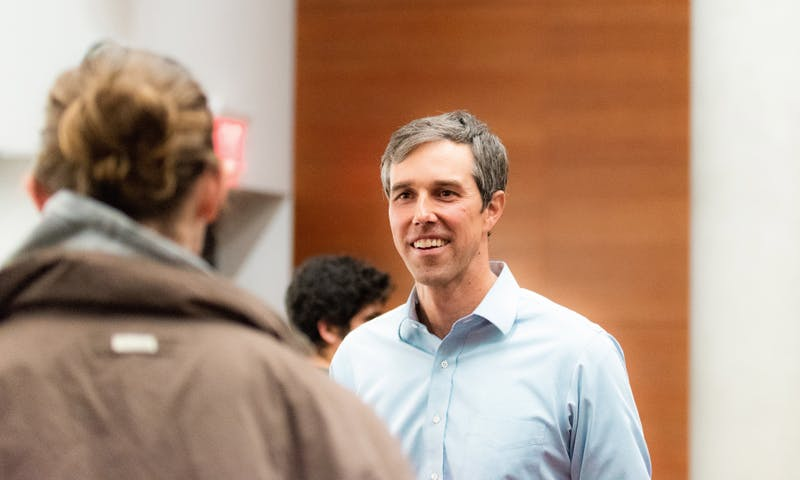 O'Rourke emphasized the importance of talking to people unlike yourself.