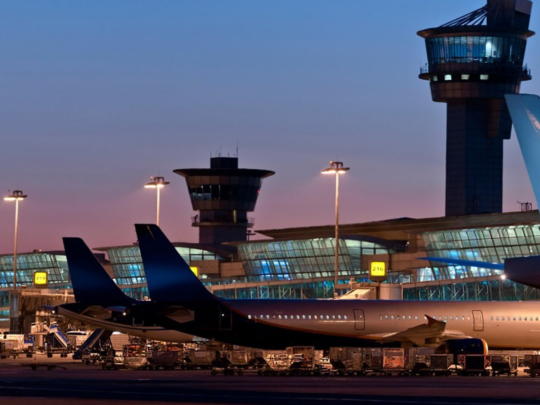 Airport in Istanbul, Turkey ( Atatürk Airport )