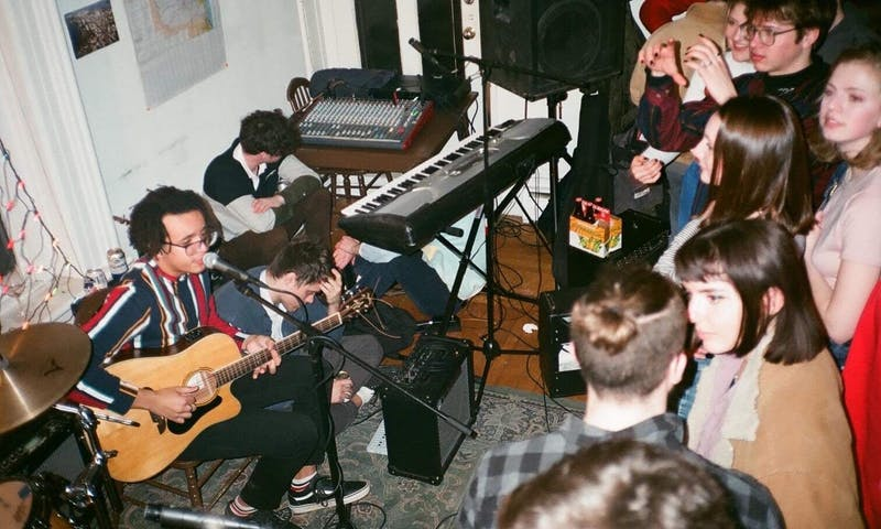 UW-Madison students discover new music in a variety of ways, but campus house concerts offer additional connections between concert-goers and emerging artists.
