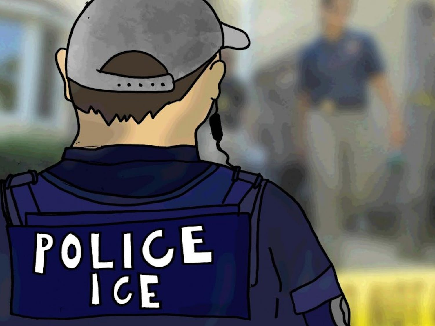 U.S. Representative Mark Pocan met with ICE officials yesterday for information about the weekend's raids, but he said he left with few answers.