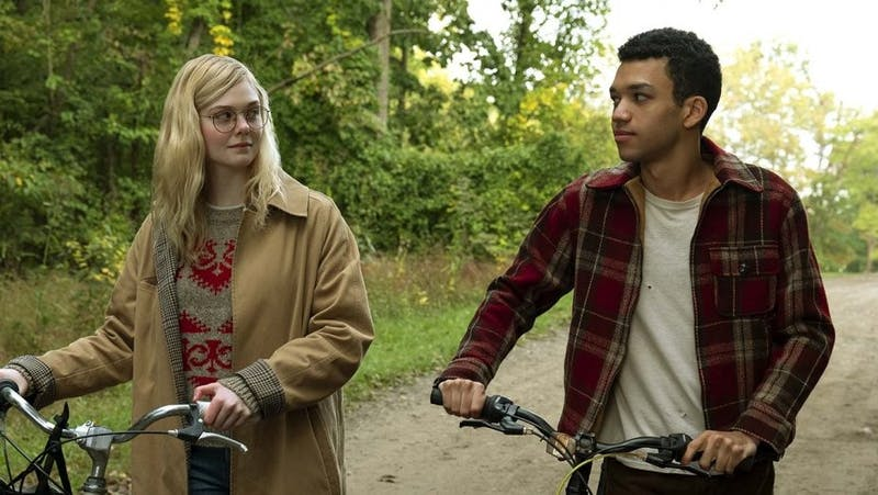 Elle Fanning and Justice Smith bring the book characters to life while navigating the reality of loss and trauma.