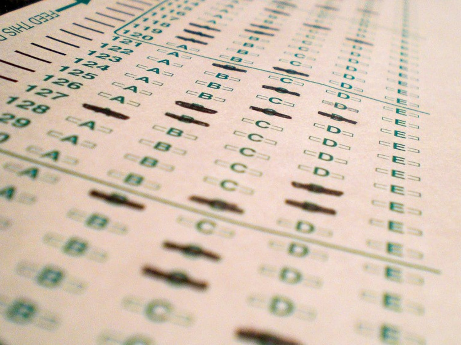 New results from the Department of Public Instruction's Forward Exam show that more than half of students in the state did not score proficient or better in language arts, math and science.