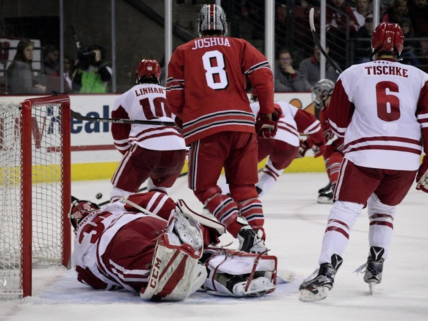 Wisconsin went 3-2 against Ohio State last season, including a win in the Big Ten Conference Tournament semifinals.