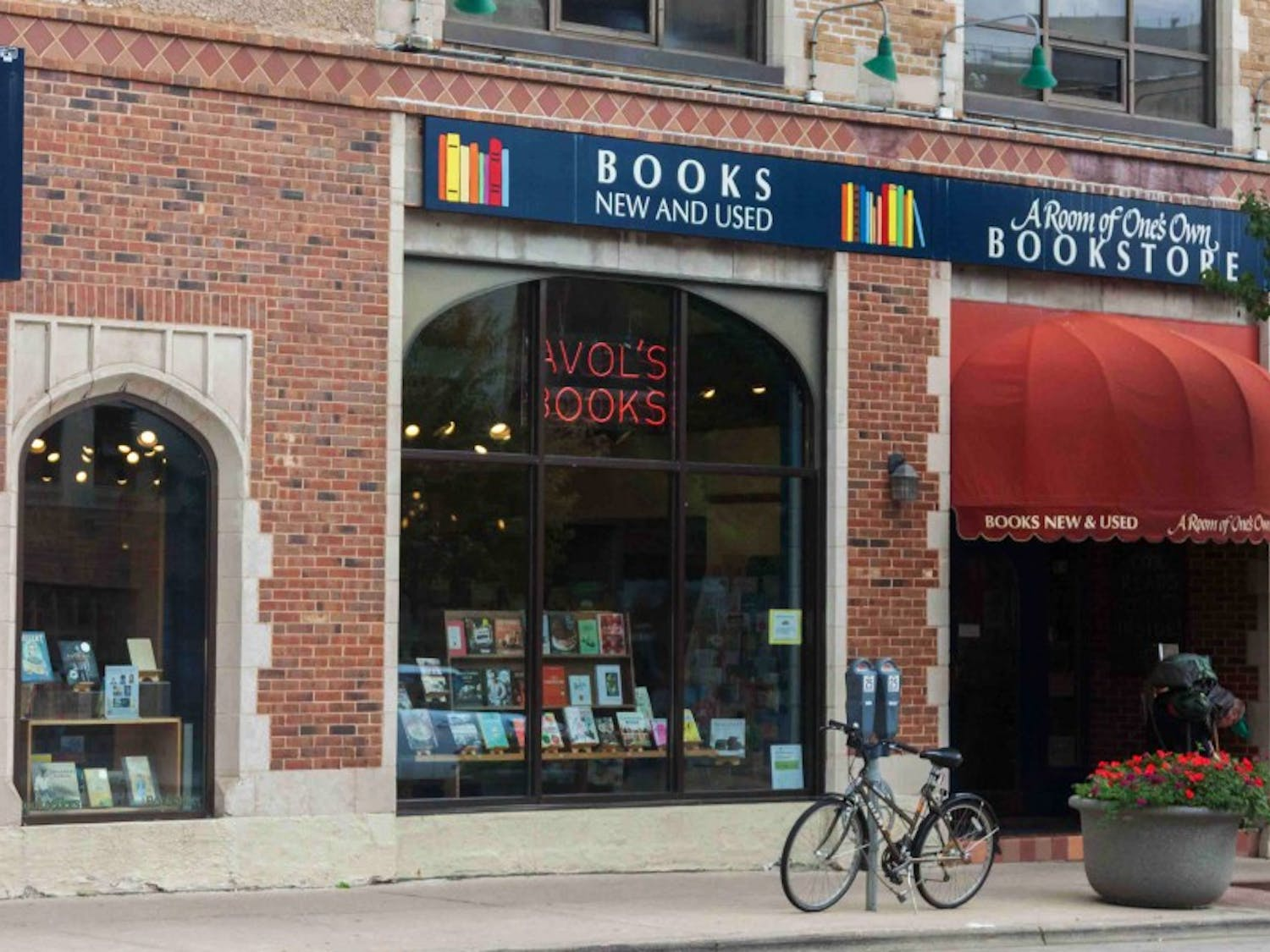 The owners of A Room of One's Own, Madison's independent feminist bookstore, announced in 2016 they are looking to sell their business.